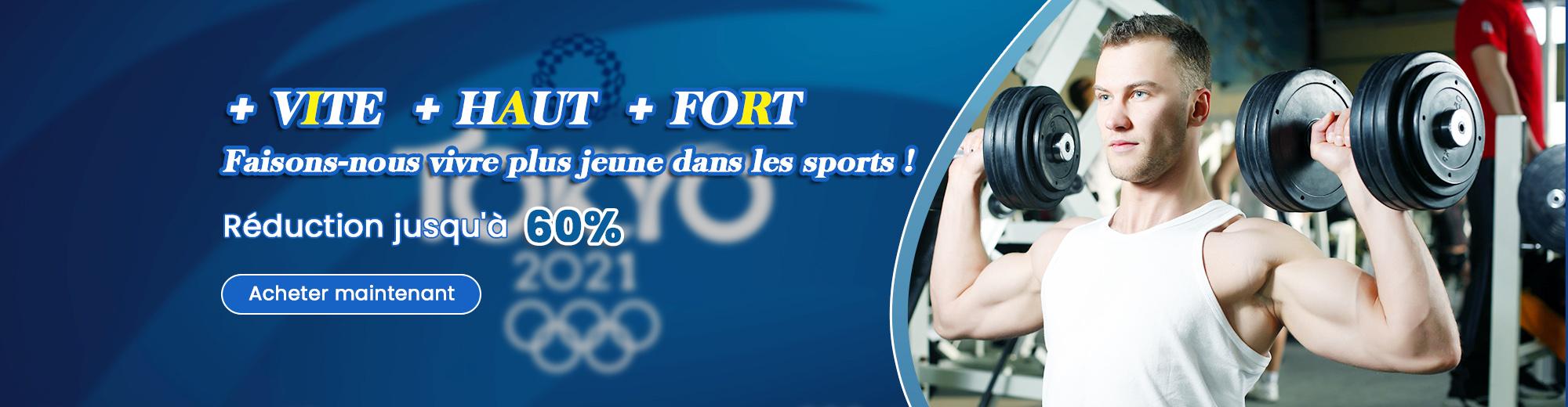 Êtes-vous prêt pour la saison des Jeux Olympiques 2021? Ne ratez pas nos offres spéciales sur les articles de sport et profitez d'une livraison gratuite sur tout le site costway.fr!