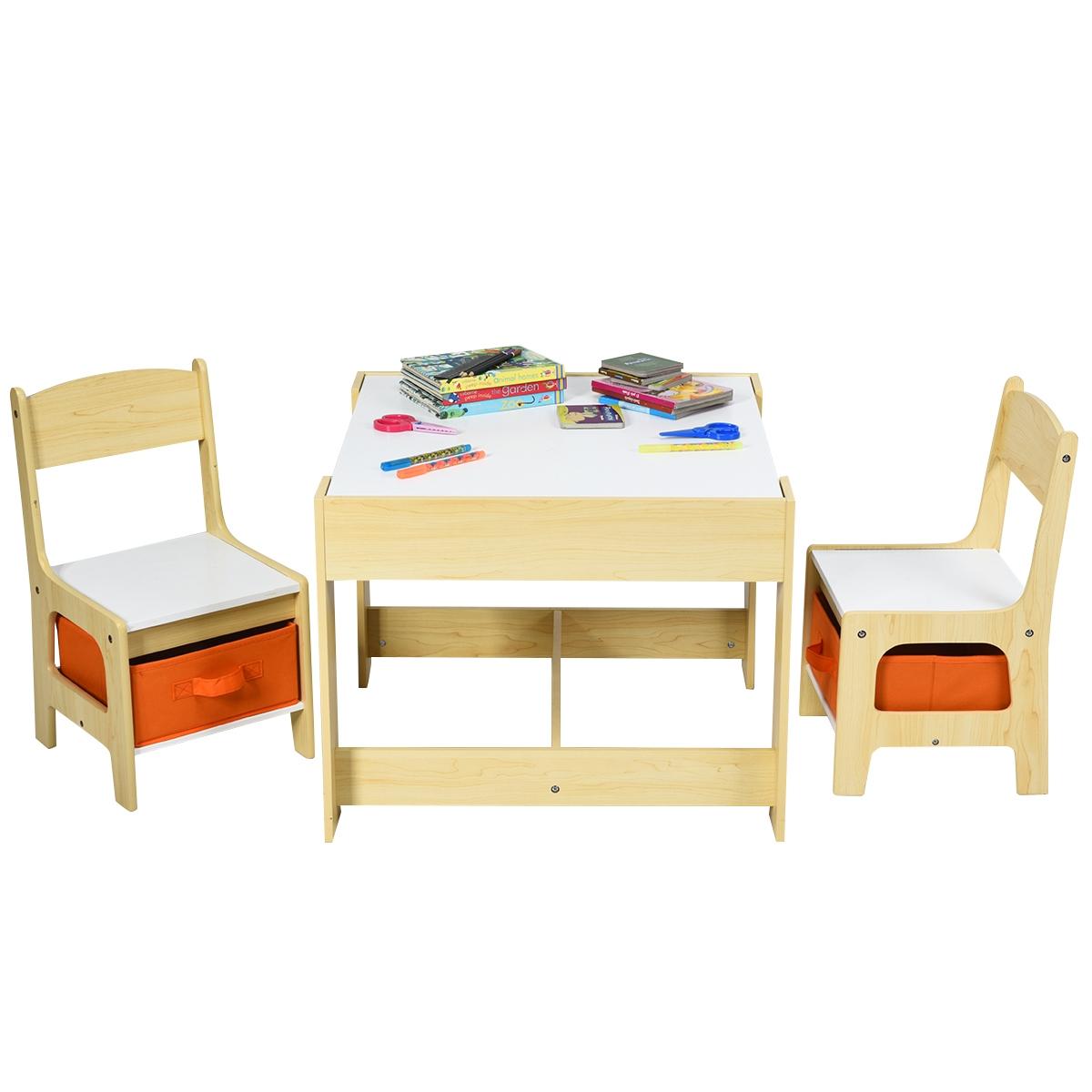 Enfants Table D'étude Chambre Meubles Ensemble En Bois