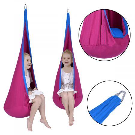 Enfants Chaise hamac suspendue siège fauteil balançoire crochet tente intérieur/extérieur