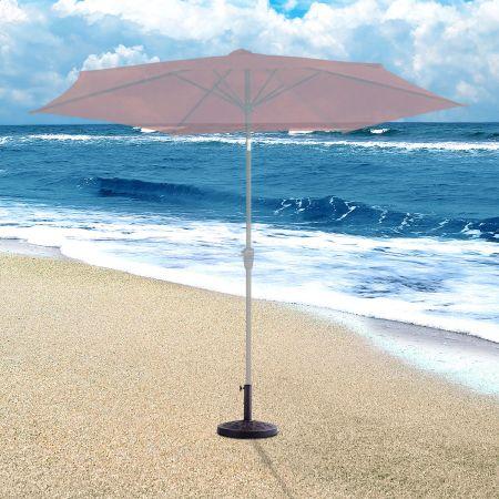 Base/Pied de ParasolSupport pour parasol ou parapluie Convient pour Diamètre de 38mm ou 48mmSupport pour parasol rond Bronze