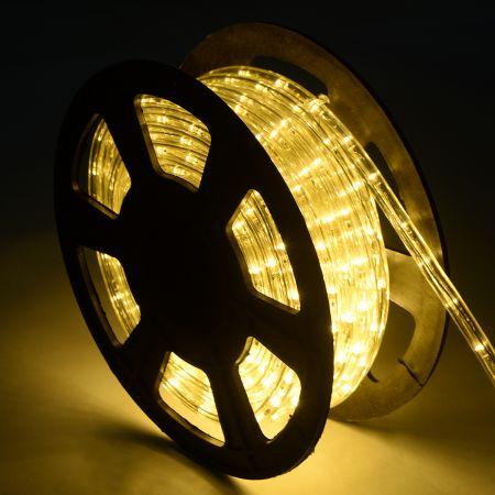 Tuyau lumineux LED couleurs & longeurs éligible tube de lumière Décoration  blanc chaud