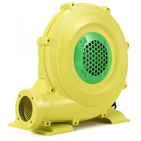 Costway Pompe Gonflable de Ventilateur Electrique avec Moteur 680W pour Château Gonflable et Arches Gonflable Jaune