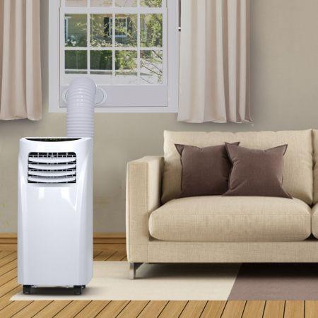 Costway Climatiseur 3 en 1 Option Ventilateur et Déshumidificateur Fonctionnement Silencieux
