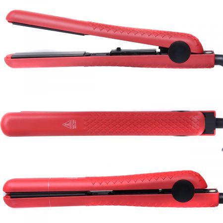 Costway Lisseur Cheveux Professionnel Fer à Lisser en Céramique 30W Multi-Fonction Température Réglable 140°F à 450°F