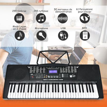 clavier numérique 61 touches