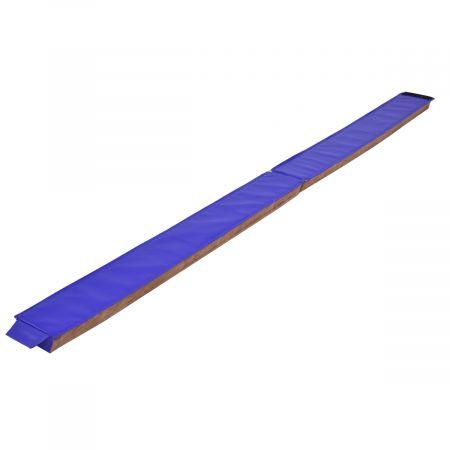 Poutre d'équilibre pliable Gymnastique sectionnelle Compétence Performance Entraînement 2,4 m