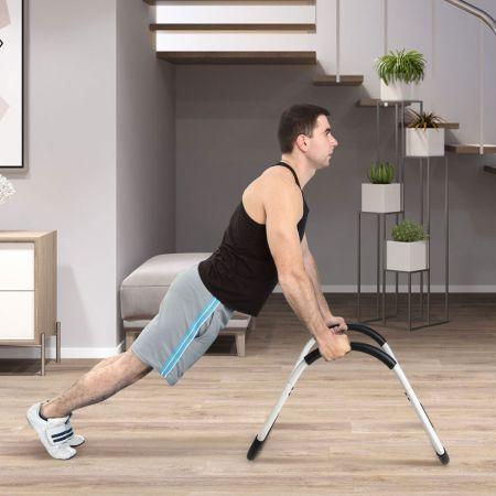 Costway AB Trainer Appareil de Renforcement Musculaire pour Abdominaux 68x58x62CM Charge Max 100KG pour Maison Salle de Gym
