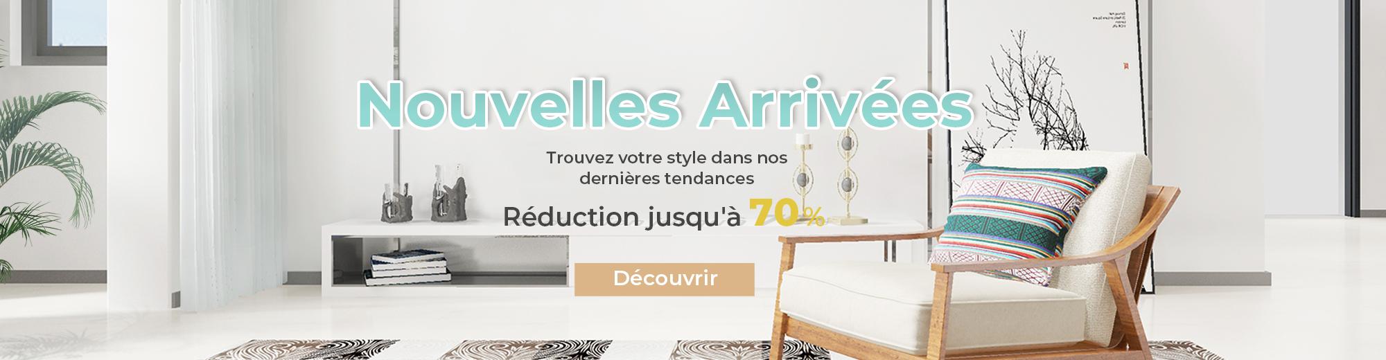 Trouvez votre style dans nos dernières tendances. Décorez votre maison avec nos nouveautés à prix spécial et profitez d'une livraison gratuite sur tout le site costway.fr!